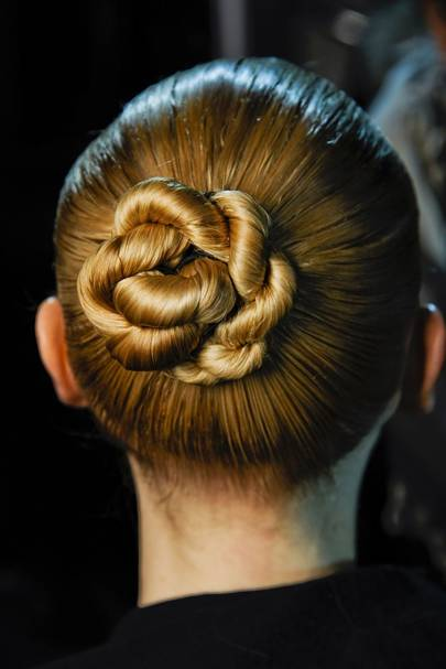 The Side Bun Is The Most Pinned Hair Trend In The Uk Glamour Uk
