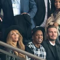 Beyoncé, Jay-Z & David Beckham
