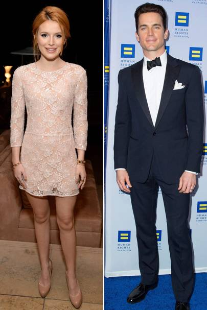 Glamour: Bella Thorne & Matt Bomer