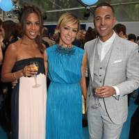 Rochelle Humes, Jo Elvin and Marvin Humes