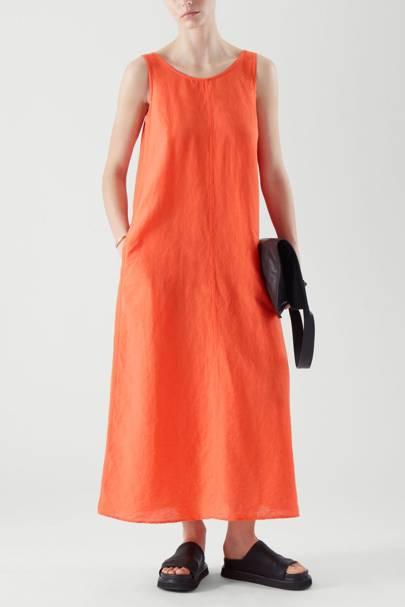 Linen dresses: COS