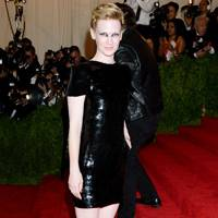 January Jones at the Met Gala