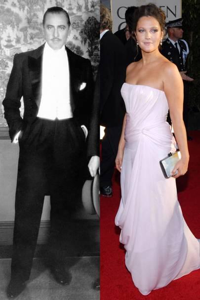 Drew Barrymore & John Barrymore