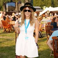 Caroline Flack at the Barclaycard British Summer Time Concert