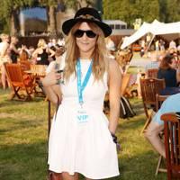 Caroline Flack at the Barclaycard British Summer Time Concert