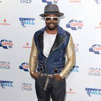 Will.i.am at the Capital FM Summertime Ball