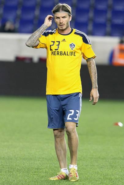 6ft: David Beckham