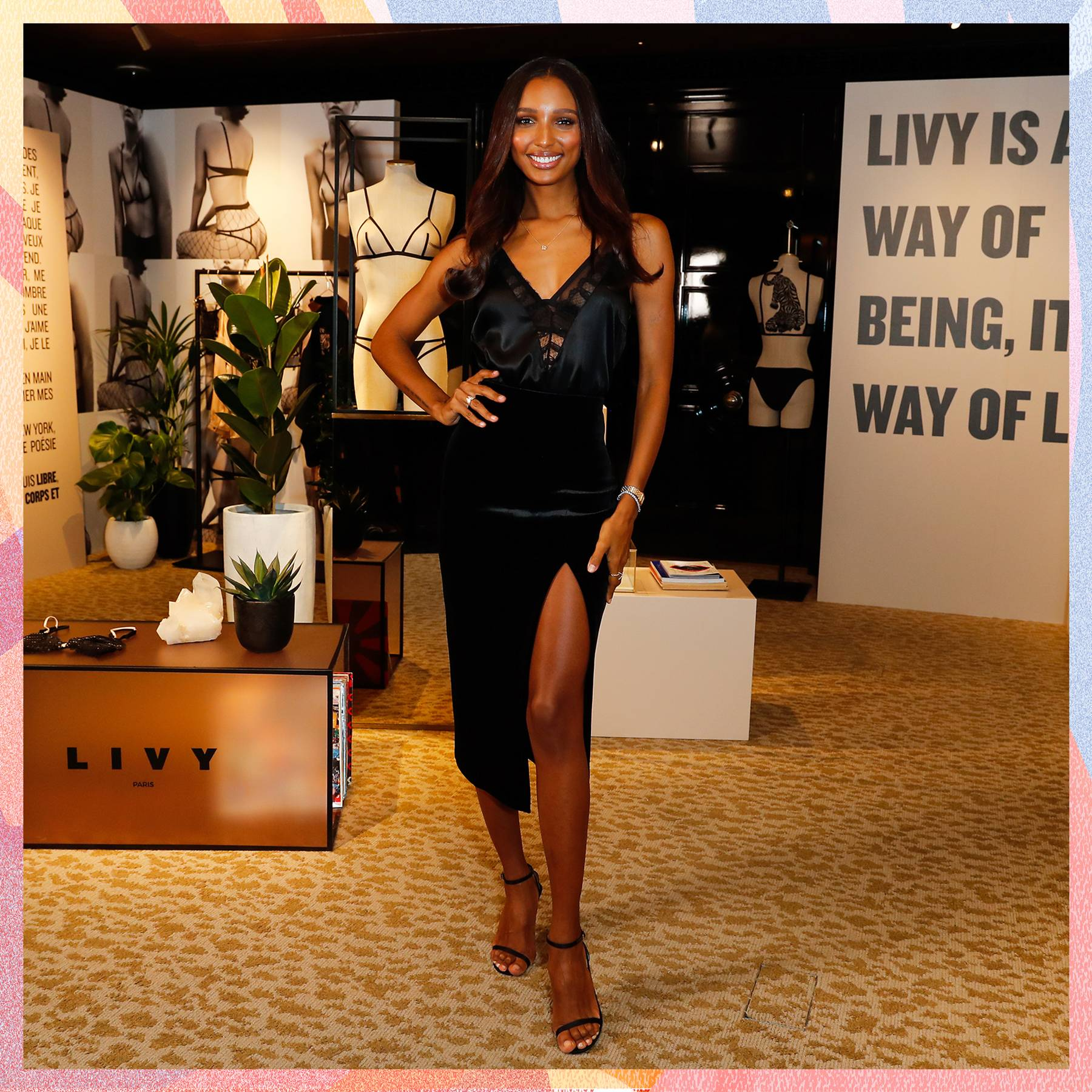 464f710d8078 Victoria's Secret Angel Jasmine Tookes Interview On Underwear, Body Image  and Food | Glamour UK