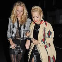 Poppy Delevingne & Rita Ora