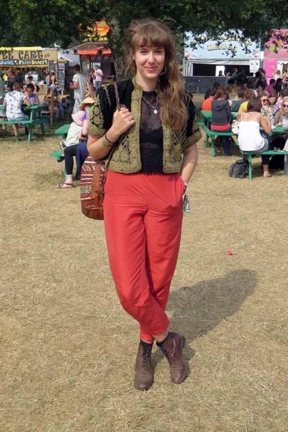 Robyn Johnston, Latitude Festival