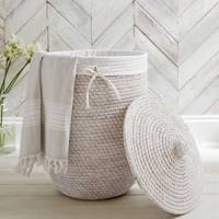 Best laundry basket: The White Company