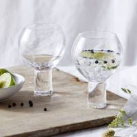 Best drinking glasses: The White Company gin glasses