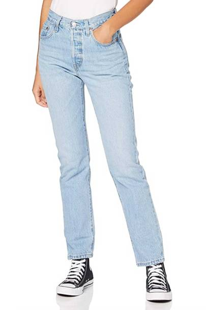 Best jeans UK: Levi's cropped jeans