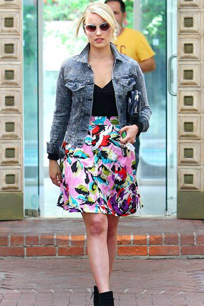 DON'T #16: Dianna Agron out and about in LA, May