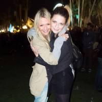 Zanna Roberts and Mischa Barton at Coachella 2012