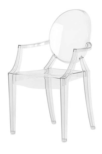 Grand Entrance Acrylic Chair: