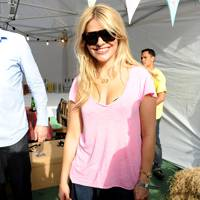 Holly Willoughby at House Festival 2012