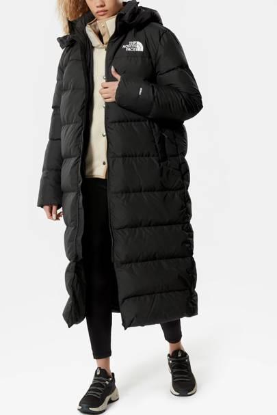 The North Face duvet coat