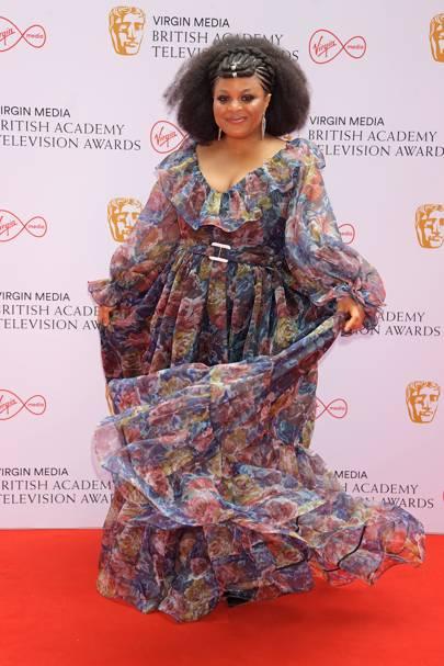 BAFTA TV Red Carpet: Gbemisola Ikumelo