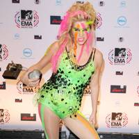 DON'T #14: Ke$ha at the MTV EMAs, November