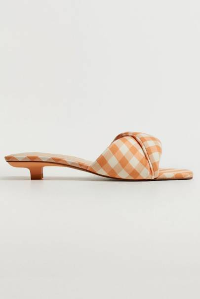 Best Gingham Sandals - Mango
