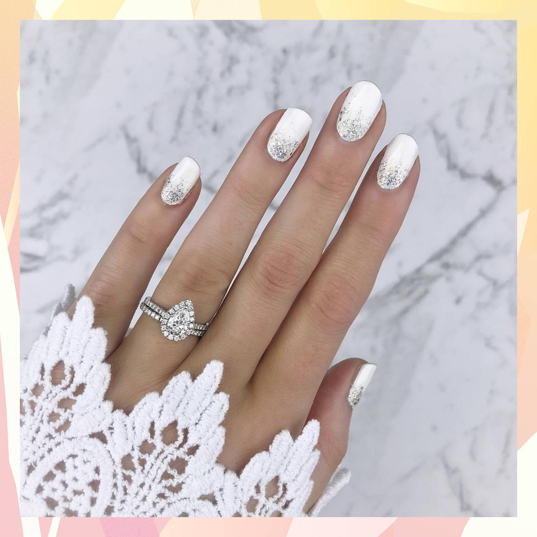 Wedding Pictures With Guest: Inspirational Pastel Nail Art 2019