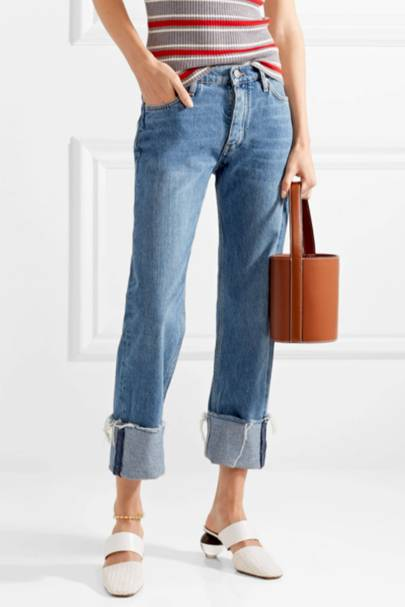 SUSTAINABLE DENIM 2021 - TURN-UP JEANS