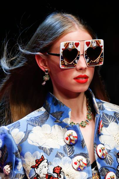Dolce Amp Gabbana Sunglasses Are So Extra For Ss18 Glamour Uk