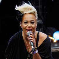 Emeli Sandé performs at Lovebox 2012