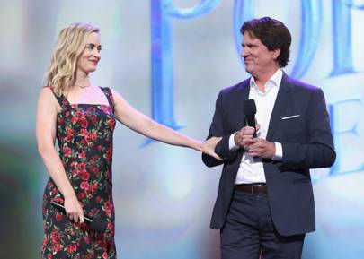 Emily Blunt and Rob Marshall Mary Poppins Returns