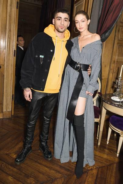 2. Zayn Malik & Gigi Hadid