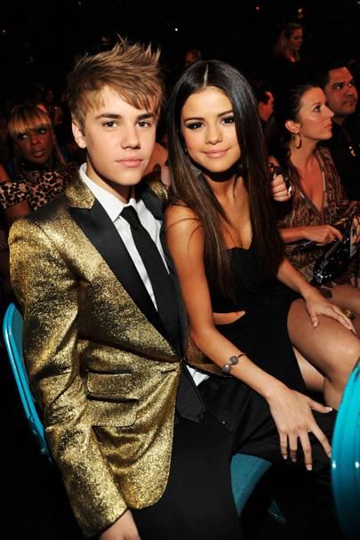 Selena Gomez + Justin Bieber = 55%