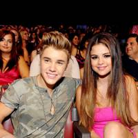 Selena Gomez and Justin Bieber at the Teen Choice Awards 2012