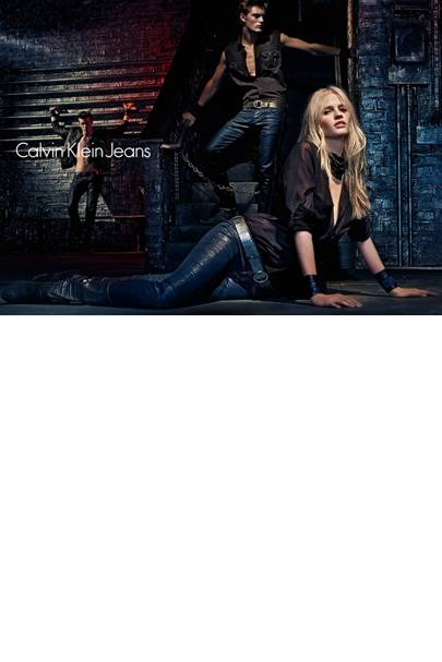 Lara Stone For Calvin Klein Jeans