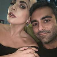 Lady Gaga and Michael Polansky