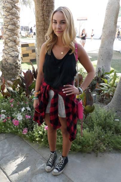 Olivia Collins, Student, Coachella Festival