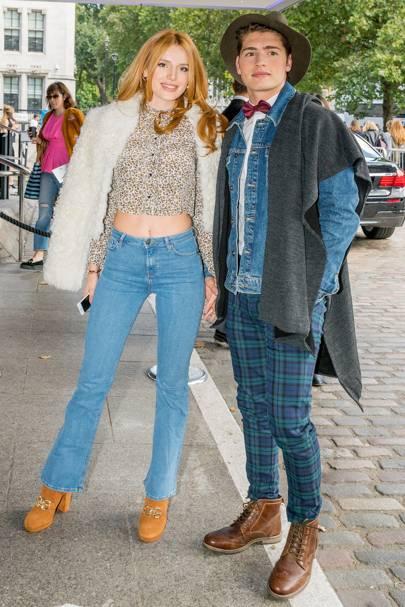 August: Bella Thorne and Greg Sulkin