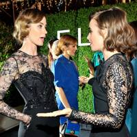 Emily Blunt & Lily Collins
