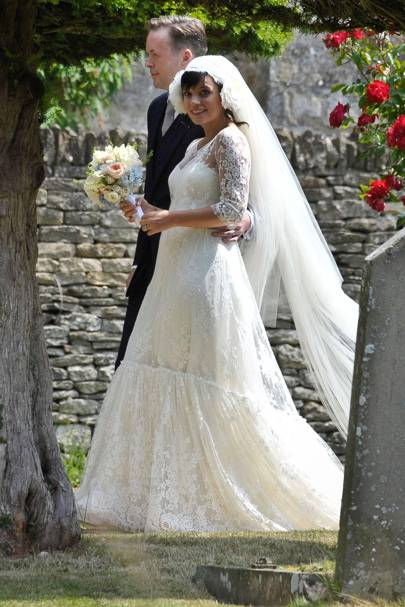 Lily Allen Lost Chanel Haute Couture Wedding Dress Glamour Uk