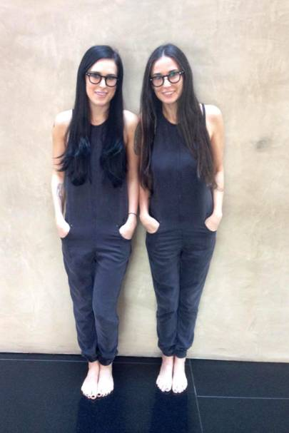 Demi Moore & Rumer Willis