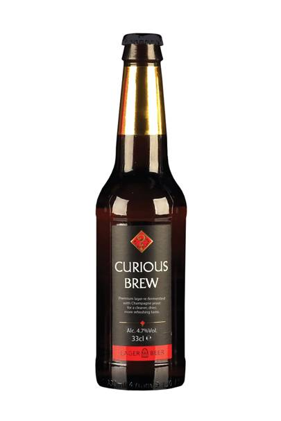 Curious Brew Lager, 4.7%