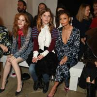 Hermione Corfield, Ellie Bamber, Clemence Poesy, Thandie Newton and Alexa Chung