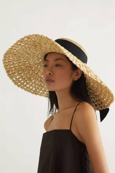 Best Sun Hats: Woven Hat
