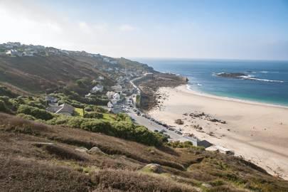 Chill on a Cornish beach