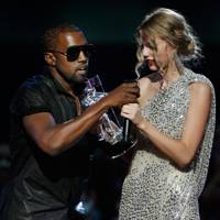 3. Kanye interrupts Taylor's speech