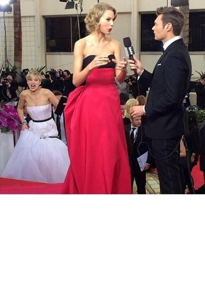 Jennifer Lawrence & Taylor Swift
