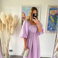 MOBLY THE LABEL - LILAC PATTY DRESS