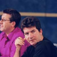 Simon Cowell judged Pop Idol