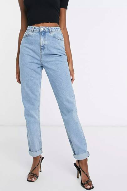 Tall mom jeans