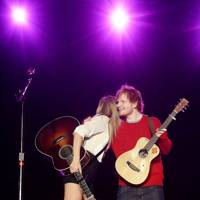 Taylor Swift and Ed Sheeran at the Capital FM Summertime Ball